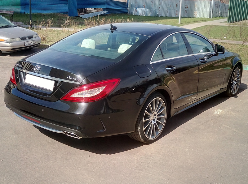 Аренда Mercedes CLS 250d 4matic